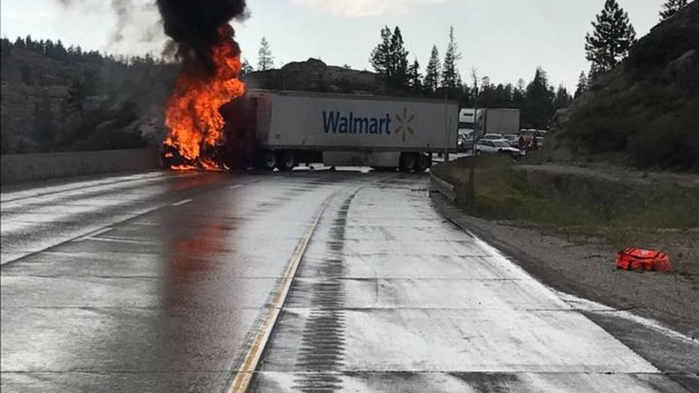 Hwy 80 accident truckee