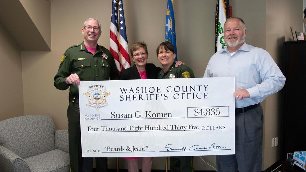 Washoe County Sheriff's raises $4,800 in October for No Shave