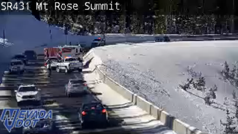 Head-on crash reported on Mt  Rose Highway south of Reno | KRNV