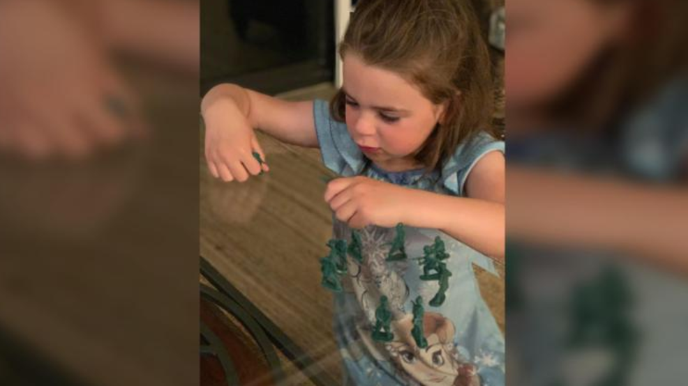 Arkansas girl writes companies for female toy soliers | KRNV