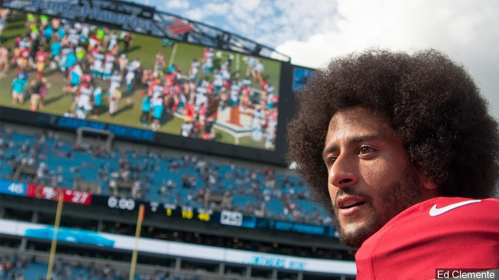 d51d29db3ab San Francisco 49ers QB Colin Kaepernick after the game against the Carolina  Panthers in Charlotte