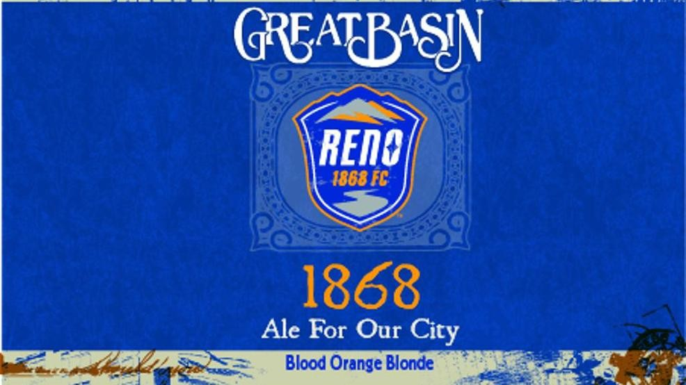 Reno 1868 FC, Great Basin Brewing Co  to launch '1868' beer