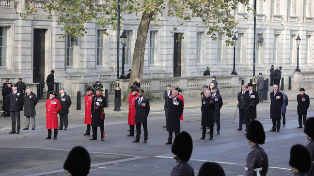 UK honors war dead in scaled-back Remembrance Sunday service | KRNV
