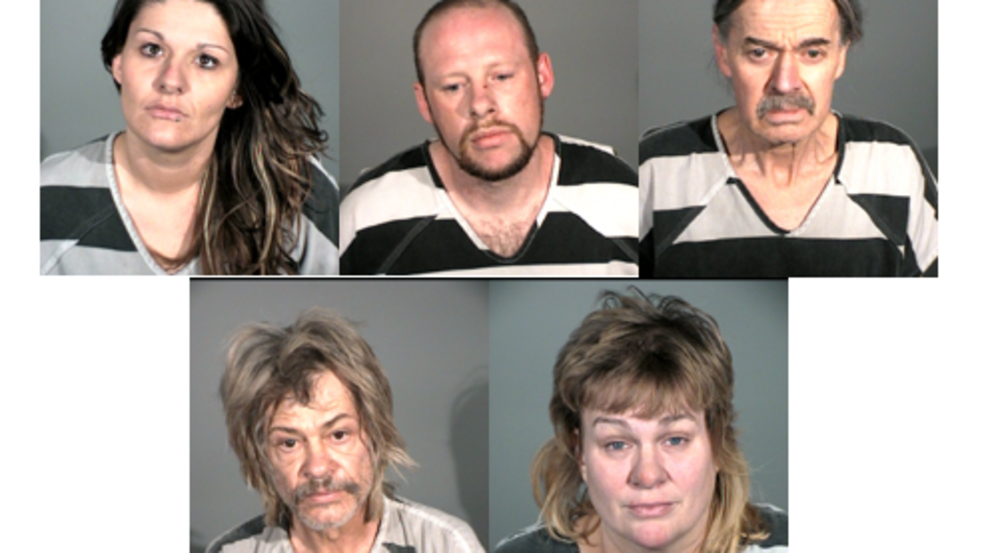 Carson City Sheriff's arrest five in Carson City on various
