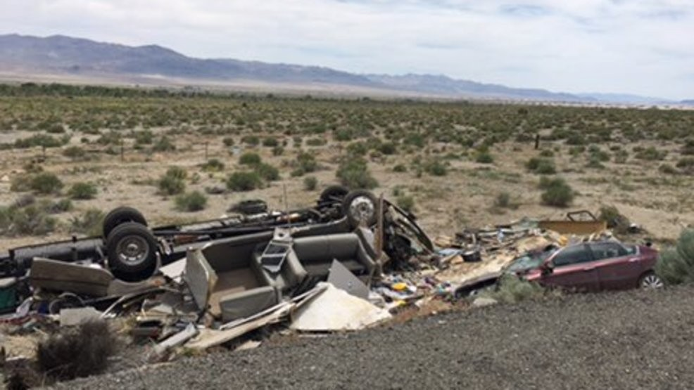 NHP: Fatal crash on U S  95 near Walker Lake | KRNV